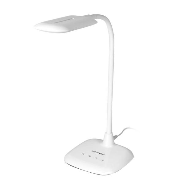 Светильник настольный Sonnen BR-819A 8W White (236666)