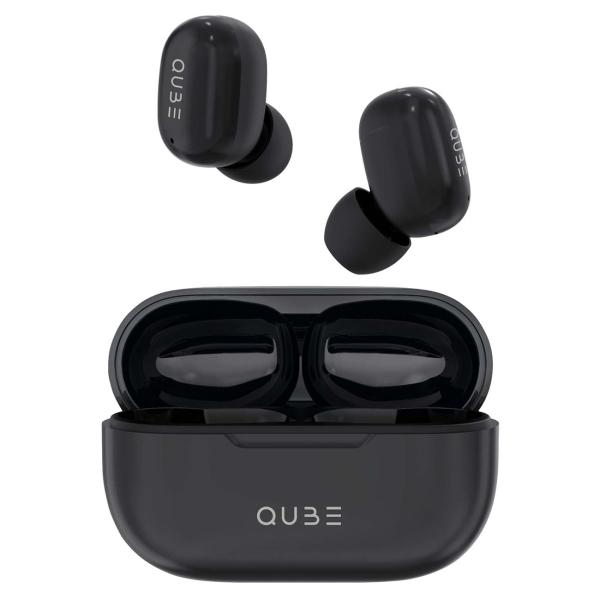 Наушники True Wireless QUB QTWS5BLK черного цвета