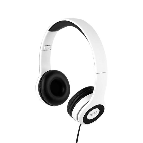 Наушники накладные QUB STN-031 White белого цвета