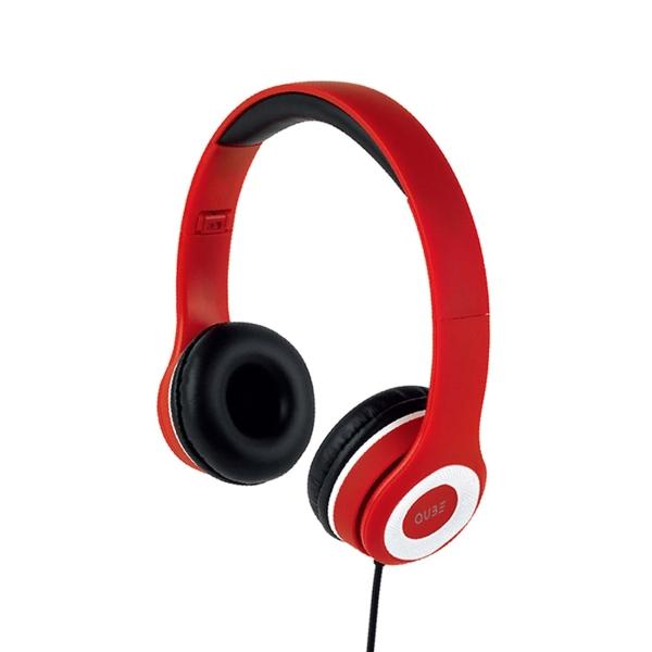 Наушники накладные QUB STN-031 Red красного цвета