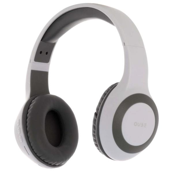 Наушники накладные Bluetooth QUB STN-330 White