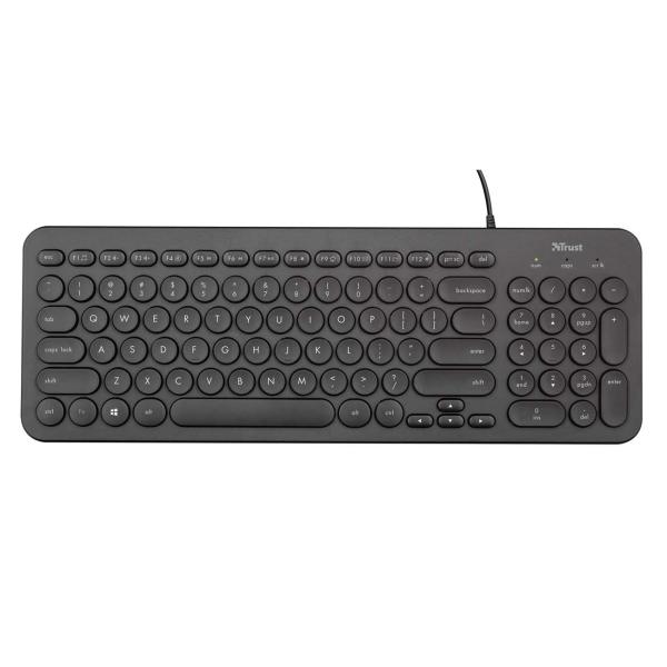 Клавиатура проводная Trust