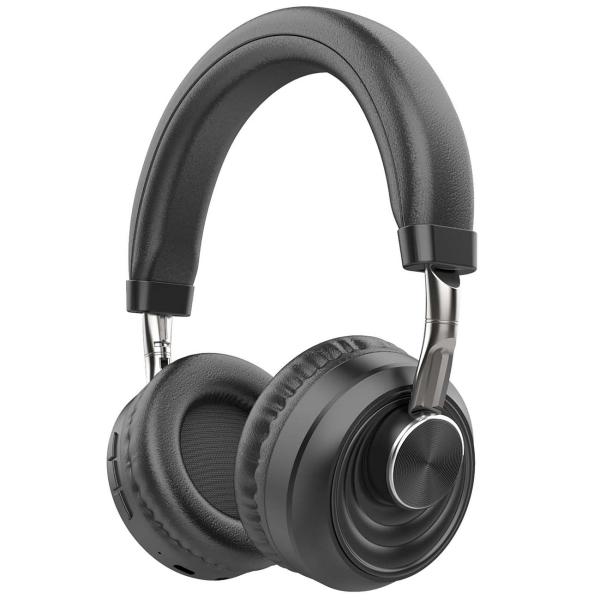 Наушники накладные Bluetooth HIPER Live QTX6 Black (HTW-QTX6)
