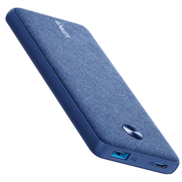 Внешний аккумулятор Anker PowerCore Sense 10000 PD Fabric Blue