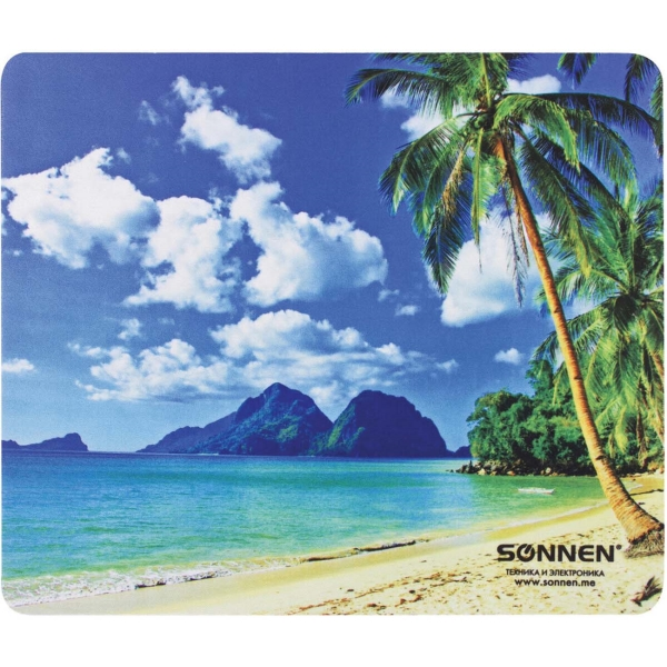 Коврик для мыши Sonnen BEACH 513294