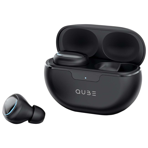Наушники True Wireless QUB QTWS8BLK