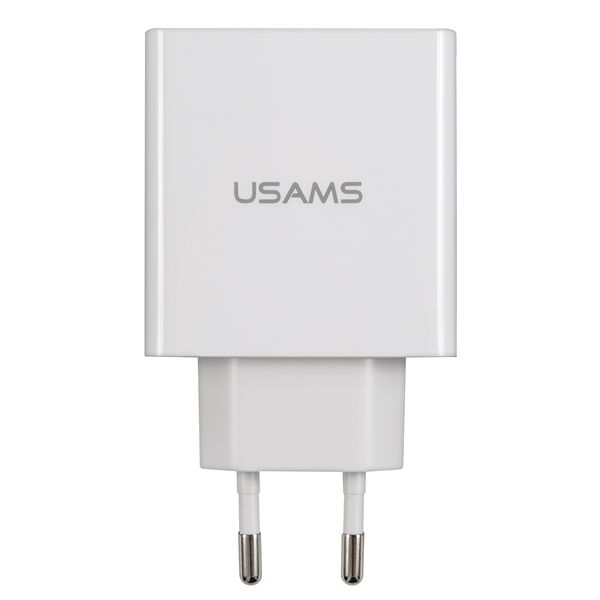 Купить Сетевое зарядное устройство Usams US-CC035 белый (CC35TC04) в каталоге интернет магазина М.Видео по выгодной цене с доставкой, отзывы, фотографии - Москва