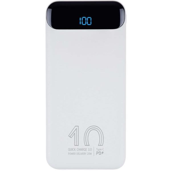Внешний аккумулятор RIVACASE VA2540 (10000mAh) QC/PD белый