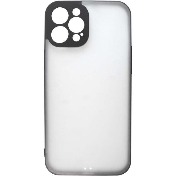 Чехол InterStep ULTRAS iPhone 12 Pro Max черный
