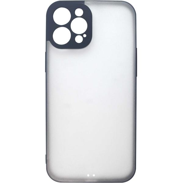 Чехол InterStep ULTRAS iPhone 12 Pro Max синий