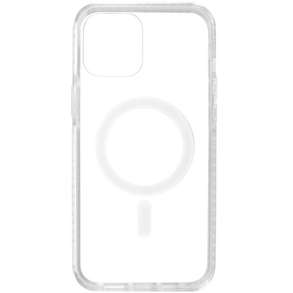 Чехол InterStep MAGSAFE CLEAR iPhone 12 Pro Max прозрачный