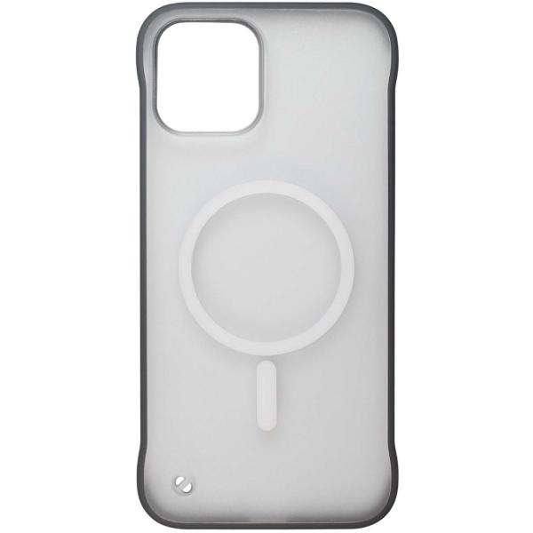 Чехол InterStep MAGSAFE TABLE iPhone 12 / 12 Pro чёрный