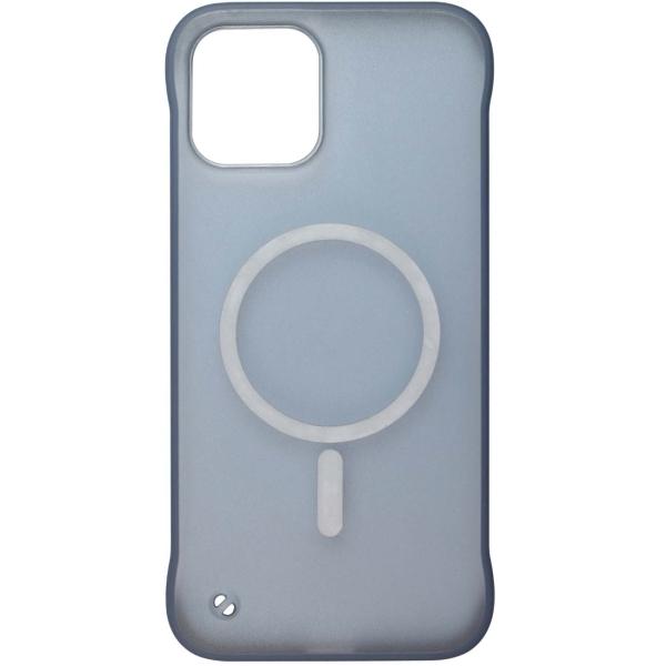 Чехол InterStep MAGSAFE TABLE iPhone 12 / 12 Pro синий