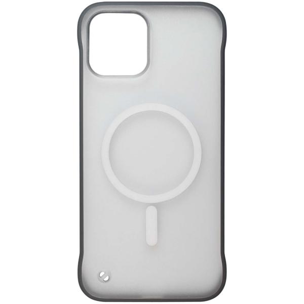 Чехол InterStep MAGSAFE TABLE iPhone 12 Pro Max чёрный
