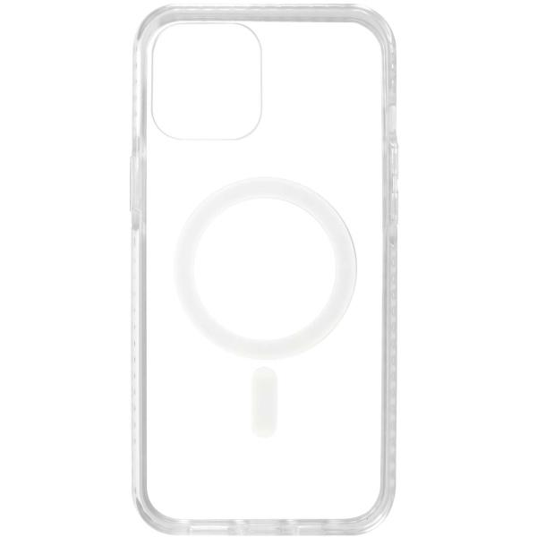 Чехол InterStep MAGSAFE RAINKIT iPhone 12 Pro Max прозрачный