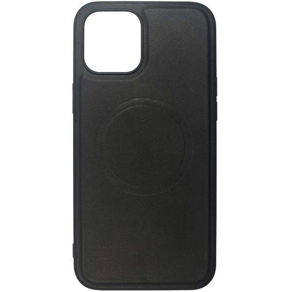 Чехол InterStep MAGSAFE ORIGIN P iPhone 12 / 12 Pro чёрный