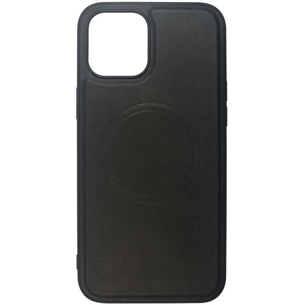 Чехол InterStep MAGSAFE ORIGIN P iPhone 12 Pro Max чёрный