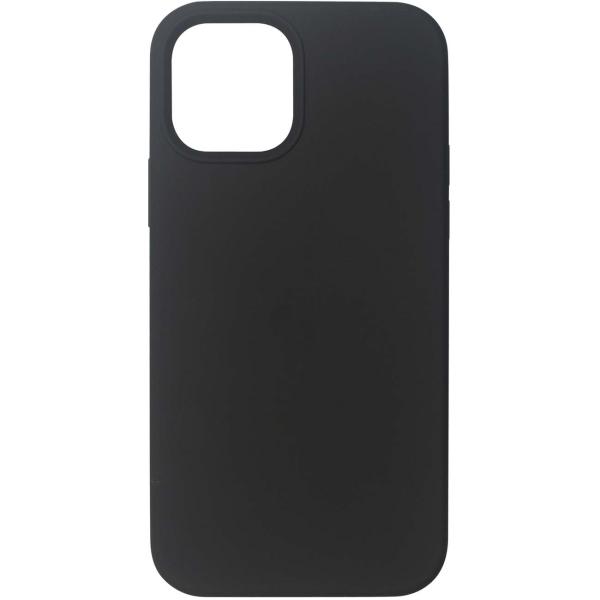 Чехол InterStep MAGSAFE 4D iPhone 12 / 12 Pro чёрный
