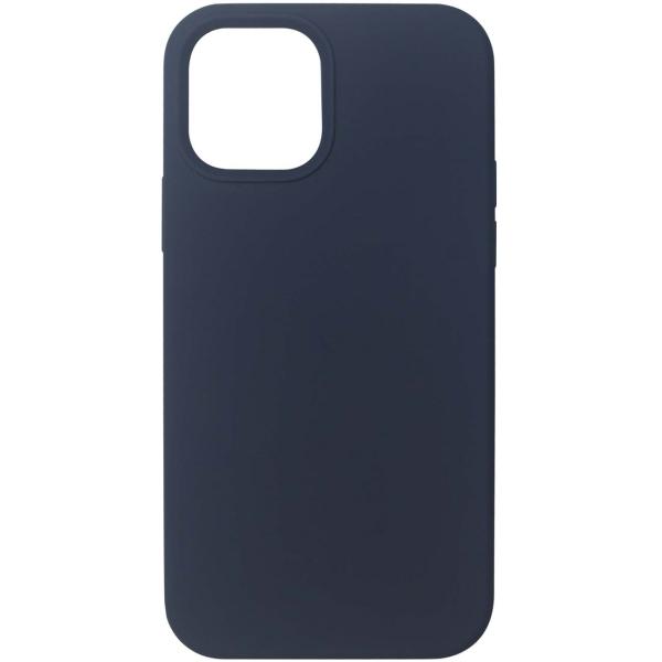 Чехол InterStep MAGSAFE 4D iPhone 12 / 12 Pro синий