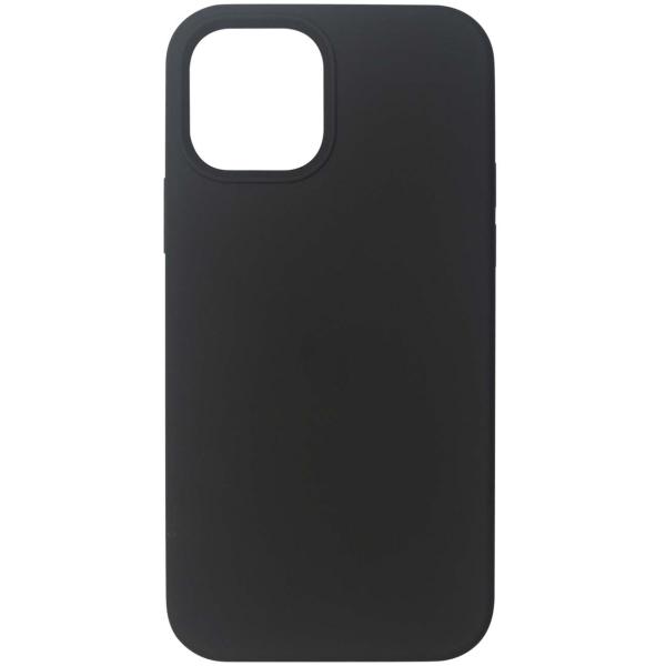 Чехол InterStep MAGSAFE 4D iPhone 12 Pro Max чёрный