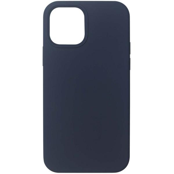 Чехол InterStep MAGSAFE 4D iPhone 12 Pro Max синий
