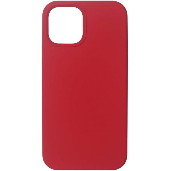 Чехол InterStep MAGSAFE 4D iPhone 12 Pro Max красный