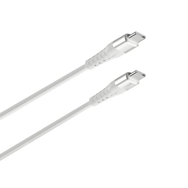 Кабель USB Type-C InterStep TypC USB 2.0 Silver 2м