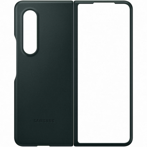 Samsung Galaxy Z Fold3 Leather Cover Green (EF-VF926) Galaxy Z Fold3 Leather Cover Green (EF-VF926) зеленого цвета