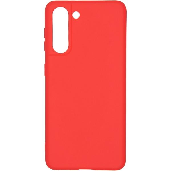 Carmega Samsung Galaxy S21 Candy red красного цвета