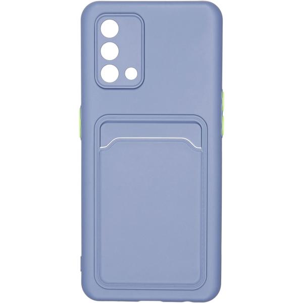 Carmega OPPO A74 Card blue синего цвета