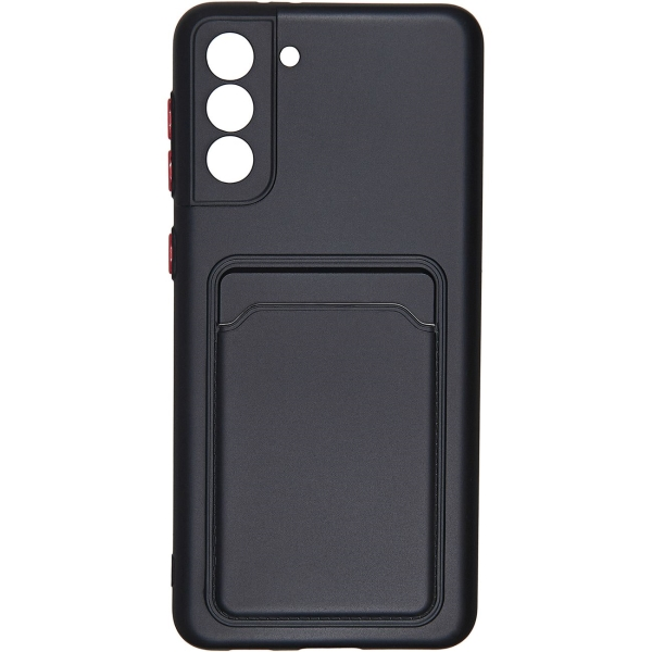 Carmega Samsung Galaxy S21+ Card black черного цвета