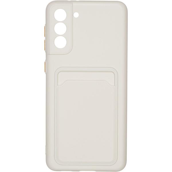Carmega Samsung Galaxy S21+ Card white белого цвета