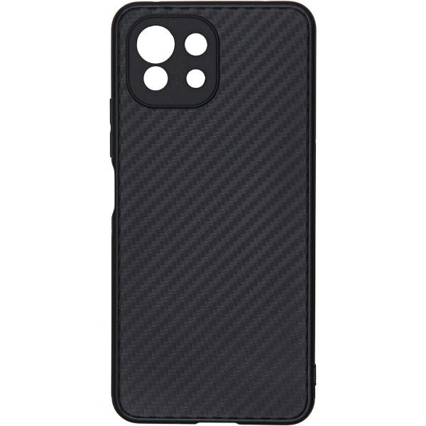 Carmega Xiaomi Mi 11 Lite Carbon black черного цвета