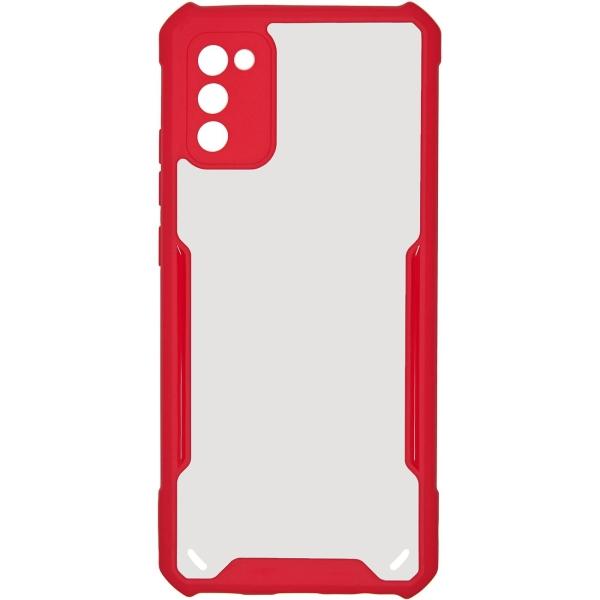 Carmega Samsung Galaxy A02s Acryl TPU red красного цвета
