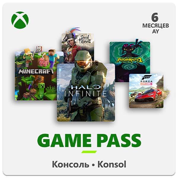 Подписка Xbox Microsoft GamePass 6 месяца - купить в М.Видео, цена, отзывы - Уфа