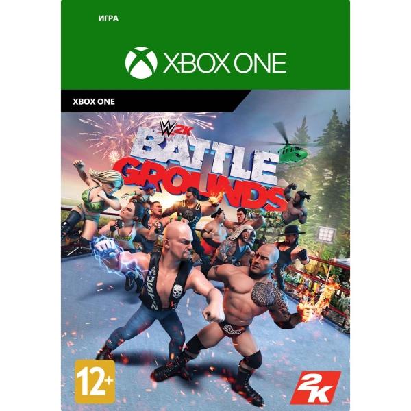 Цифровая версия игры Xbox Take2 WWE 2K Battlegrounds