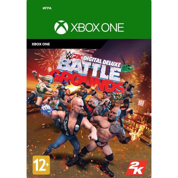 Цифровая версия игры Xbox Take2 WWE 2K Battlegrounds Digital Deluxe