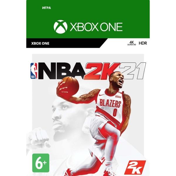 Цифровая версия игры Xbox Take2 NBA 2K21