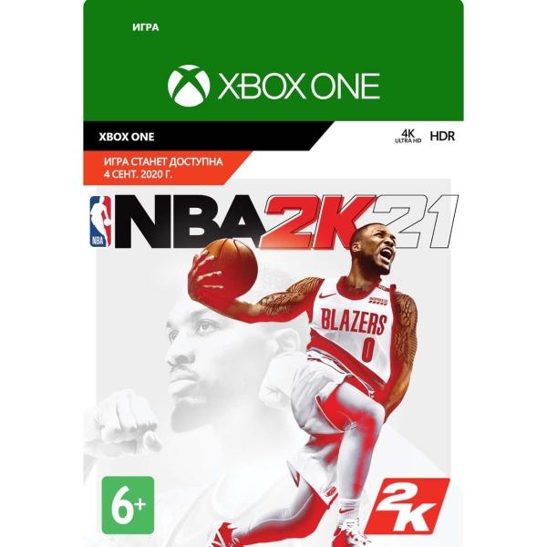 Цифровая версия игры Xbox Take2 NBA 2K21: (Pre-Purchase)
