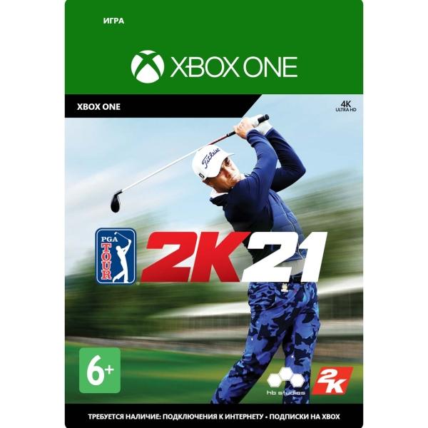 Цифровая версия игры Xbox Take2 PGA Tour 2K21
