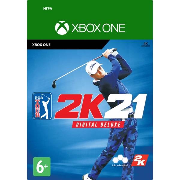 Цифровая версия игры Xbox Take2 PGA Tour 2K21: Digital Deluxe
