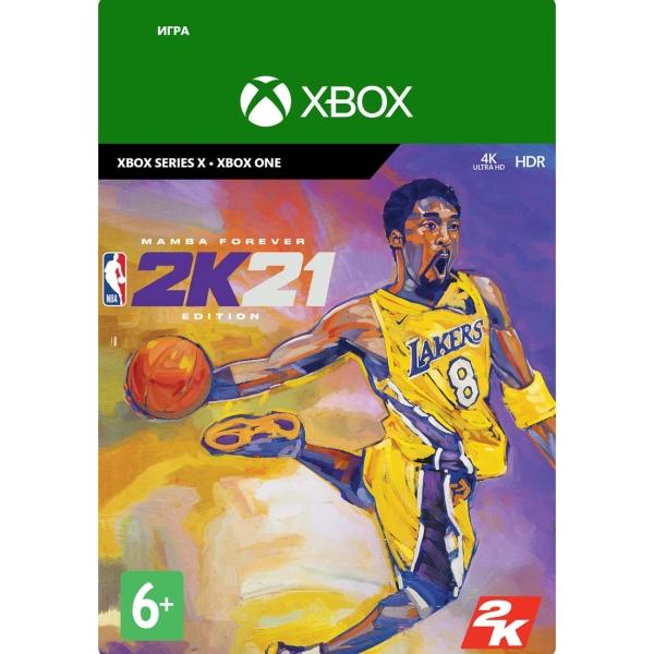 Цифровая версия игры Xbox Series X and Xbox One Take2 NBA 2K21: Mamba Forever Edition