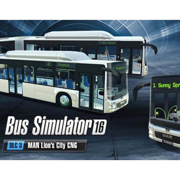 Дополнения для игр PC Astragon Bus Simulator 16 MAN Lion's City CNG Pack cng and diesohols