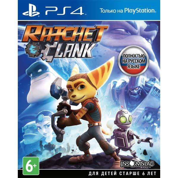 Видеоигра для PS4 TradeIN Ratchet & Clank raket120 бывший в употреблении