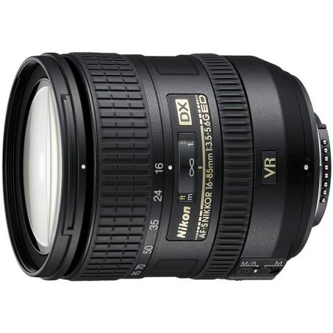 Фотография товара объектив Nikon AF-S DX Nikkor 16-85mm f/3.5-5.6G ED VR (10000436)