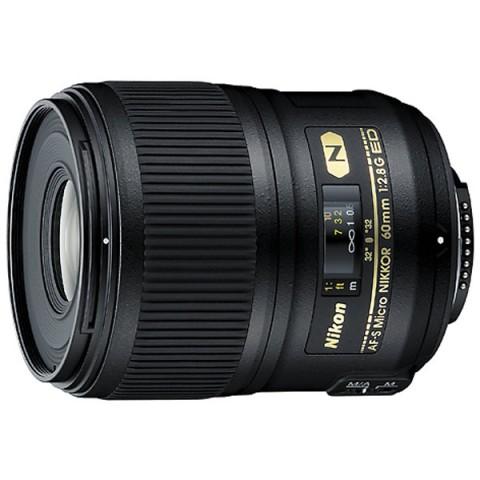 Фотография товара объектив Nikon 60mm f/2.8G AF-S ED Micro Nikkor (10000581)