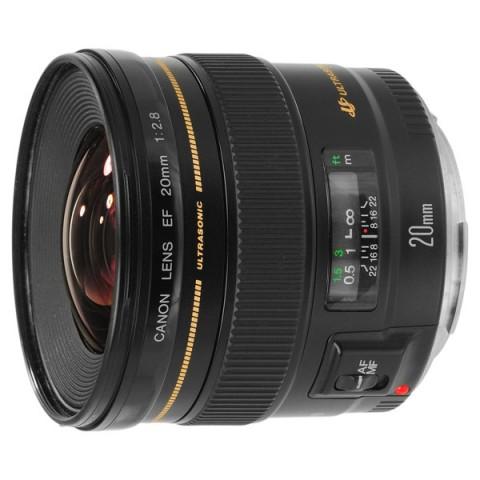 Фотография товара объектив Canon EF20 f/2.8 USM (10002720)