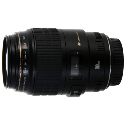Фотография товара объектив премиум Canon EF100 f/2.8USM Macro (10002721)