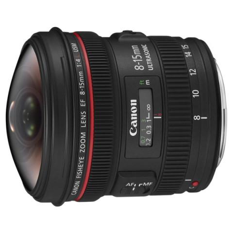 Фотография товара объектив премиум Canon EF 8-15mm f/4L Fisheye USM (10002726)