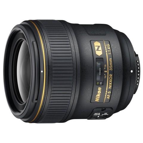 Фотография товара объектив премиум Nikon AF-S NIKKOR 35mm f/1.4G (10002750)